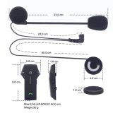 NFC Function를 가진 Bt Multi Interphone Fashion Helmet Intercom 1000m Bluetooth 3.0 Motorcycle Helmet Bluetooth Headset Bt803
