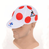 Vente en gros Custom Dry Fit Sublimation Printing Bicycle Cycling Hat Cap