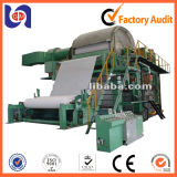 Kleine Abschminktuch Jumboo 5 Tonnen-/Tag Papierherstellung-Maschine (1880mm)