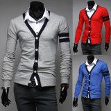 Novo chegar Fashion Cardigan para o homem/rapazes por grosso fábrica na China