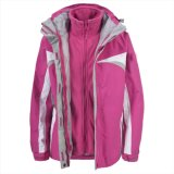 2015 Frauen 3 in 1 Waterproof Softshell Jacket