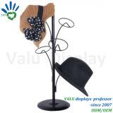 금속 공장 직매 가격을%s 가진 소매 탁상용 최신 판매 모자 진열대