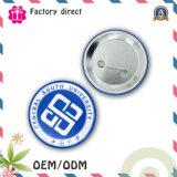 Alta Insignia del botón de Qualtiy Estaño Pin como regalo de la promoción, la insignia del metal