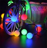 アマゾン第1結婚披露宴のMulticolorfulの地上の壁太陽ストリングストリップの装飾LEDの球根の球のランタンランプライト