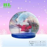 注意を引き付ける野外活動のためのすばらしいカスタマイズされた水晶膨脹可能な雪の球の記念品のテント