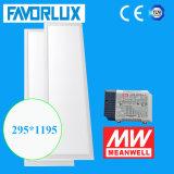 painel 300*1200 do diodo emissor de luz de 100lm/W 40W com escurecimento de Dali