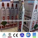 cilindros de alumínio do CO2 da soda do produto comestível 0.6L para o fabricante da água de soda