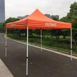 en acier extérieurs oranges de 3X3m sautent vers le haut la tente se pliante de Gazebo