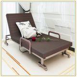 Faltendes Bett/Rollaway Gast-Bett mit Stahlrahmen-u. Schaumgummi-Matratze 190*100cm