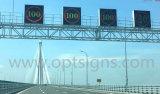 Signes variables de vitesse de radar de route de vitesses limites