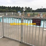 Flache Oberseite-Aluminiumswimmingpool-Fechten