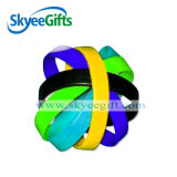 100% Pure Natural Blank Silicone Bracelets