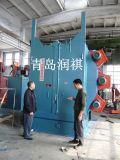 ホックのタイプクリーニングのショットブラスト機械