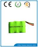 Paquete de Batería del OEM de Batería 3.6V 700mAh 2/3AA de NiMH