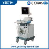 Chariot de 4D Système d'équipement d'échographie Doppler couleur (YSD780)
