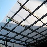 El panel del toldo del policarbonato de Costom