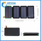 panel solar de alimentación USB Dual Bank Banco de Alimentación batería externa para el iPhone