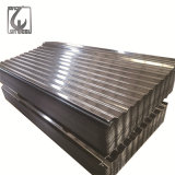 Galvalume Astma653 Folha de metal corrugado para o teto exterior Sombra