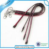 Qualidade superior Rhinestone corda de tracção com anel de chave