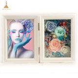 Cadre Photo Decoratin mariage éléments préservés des fleurs