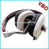 Projeto original auscultadores prendido do estéreo do estilo do auscultadores e do Headband de uma comunicação