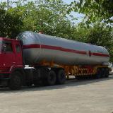 독일 현탁액 연료 트레일러 탱크 58000 리터 세 배 차축