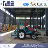 販売(HF100T)のためのトラクターによって取付けられる井戸の掘削装置