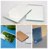 Con doble recubrimiento impermeable 1-8mm claro espejo de aluminio Vidrio Flotado /espejo de plata
