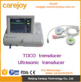 Ce Mark Fetal Monitor Fetal Heart Rate Monitor com Toco / Transdutor ultra-sônico Single Twins Opcional-Maggie