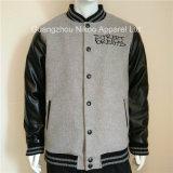 Custom вышитый мягкий шерсть Varsity куртки с решения саржа исправлений