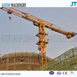 Neuer Turmkran der Ankunfts-Maximallast-4t Topkit für Aufbau-Maschinerie