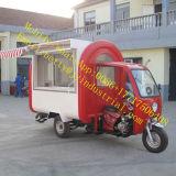 屋外のフライヤーのグリドルの台所装置のTowableアイスクリームのフリーザービールBBQのハンバーガーの食糧トラック