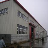 Usine préfabriquée d'entrepôt de bâti en acier de lumière de Grand-Envergure de modèle