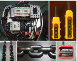 Machines de haute performance élévateur à chaînes électrique de chaîne de double de 2.5 tonnes