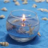 Kaars van het Gel van de Gift van het Aroma van de Kruik van het Glas van Sented van Kerstmis de Met de hand gemaakte Natuurlijke Gezonde