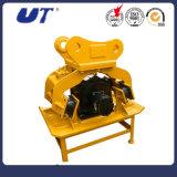 クローラー掘削機の接続機構の油圧版のコンパクター
