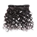 Da onda brasileira não processada natural da natureza do cabelo da alta qualidade trama de trama do cabelo