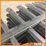 Aluminio personalizado lanza Top Fence Wholesale