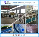 Cadena de producción del manguito de jardín del PVC, máquina plástica del manguito de jardín del PVC, línea de manguito del PVC