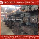 Barra de ángulo de acero de la anchura igual laminada en caliente hecha en China