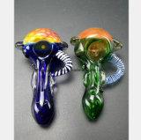 Forma de favo de orelha do tubo de tabagismo de vidro do tubo do filtro de óleo