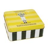 최신 판매 정연한 초콜렛 주석 상자 음식 주석 포장 상자
