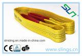 goedgekeurd Ce van de Opheffende Slinger van de Slinger &Belt van de Singelband van de Polyester van 100% van 2017 Vlak