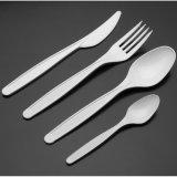 Cutelaria-Sporks plástica Compostable Eco-Friendly/forquilhas/facas/colheres do PLA