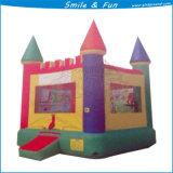 Aufblasbarer Schloss-Schlag für das Springen