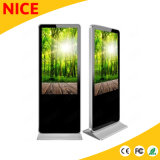 65 polegadas de tela sensível ao toque tela Digital Signage de Chão