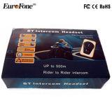 Intercom de Bluetooth branché par adaptateur par radio bi-directionnel pour le casque de moto