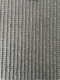 Relvado artificial da grama da forma de Perticular W