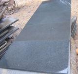 De natuurlijke Zwarte van het Basalt van de Straatsteen van het Basalt