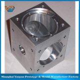 Mini pieza de maquinaria del torno de la precisión y el trabajar a máquina del CNC